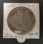 1912 GREAT BRITAIN DOLLAR